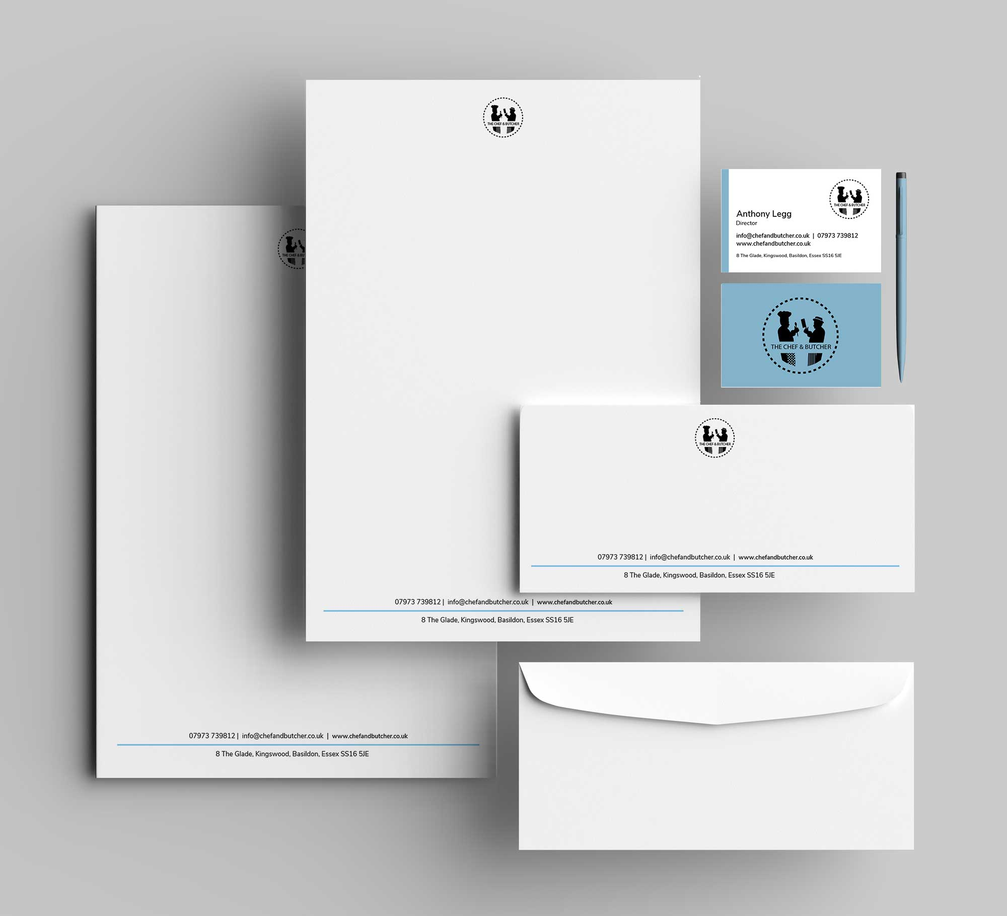 THE-CHEF-&-BUTCHER_stationery